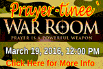 Join Us for a Prayer-tinee' 3-19-16, 12:00 PM