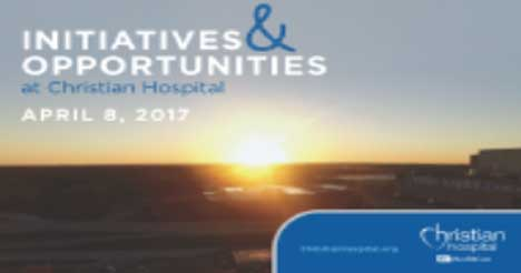 Christian Hospital's Initiatives and Opportunities Event 4-8-17