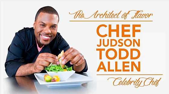 Chef Judson Todd Allen, celebrity chef